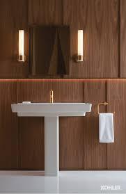 Gold Bathroom Gleaming Gold Bathroom Kohler