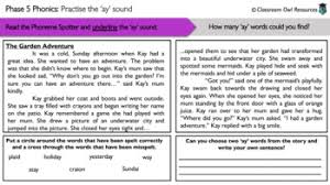 If you think about what is involved in learning to read, you will realize that this is a very complex process. Phonics Powerpoint And Worksheets Ay Sound By Rebecca Nuthall