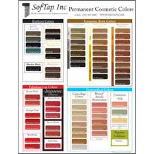 Softap Color Chart Large Softap Color Chart Poster