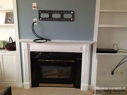 wall mounting tv above fireplace fresh tv wall mount installation with wire concealment over