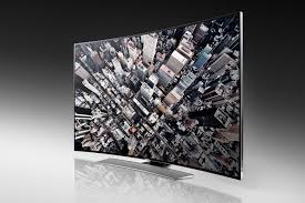 samsung tv curved. samsung curved uhd(u9000) front tv