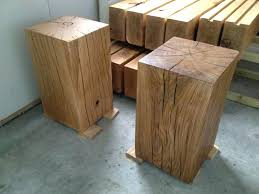 our large oak pedestal side table in clear and dark finishes solid wood side tables uk solid wood cube side table solid mango wood side table