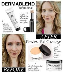 get flawless full coverage with dermablend professional