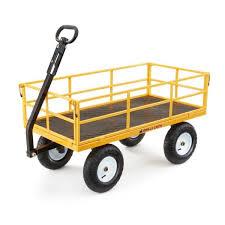 gorilla carts 1 200 lbs heavy duty
