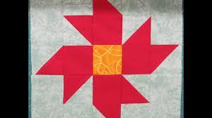 Quilt Block: Christmas Star Flower - YouTube & Quilt Block: Christmas Star Flower Adamdwight.com