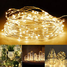 fairy lights ebay uk. 20/50/100 led string battery operated copper silver wire fairy lights xmas party. uk stock! ebay uk k
