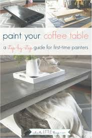 diy paint small table how to paint your coffee table notice the little things