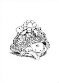 Small Picture 87 best Coloring turtles images on Pinterest Turtle coloring