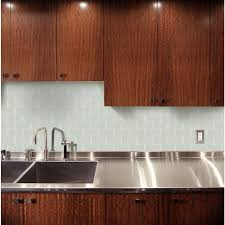 MS International Arctic Ice  In X  In Glass Wall TileSMOTGL - Backsplash tile home depot 2