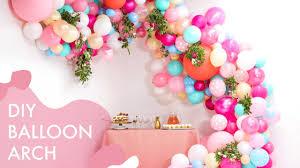 Paper Flower Archway Diy Floral Balloon Wedding Arch Makeful