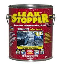 leak stopper black rubberized roof patch patch roof leak e94