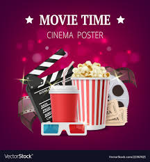 Movie Poster Design Template Movie Poster Cinema Placard Design Template With