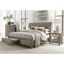 Audrey 4 piece Queen Storage Bedroom Set