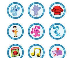 mr salt blues clues. Items Similar To Blues Clues Paw Prints Blue 2 Inch Cupcake Mr Salt