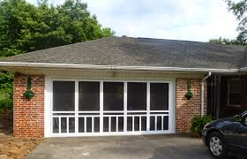 screened in garage doorGrowing in Grace Screened Garage Door Enclosure