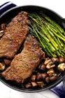 asparagus beef skillet