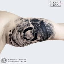 карпы кои от мастера александра Magnum Tattoo магнум тату