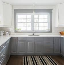 A Gray and White IKEA Kitchen Transformation - the sweetest digs