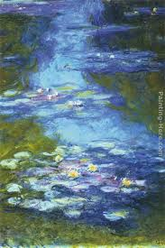 water lilies i painting claude monet water lilies i art painting
