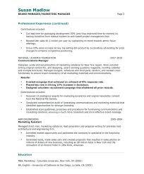 Free Sample Of Resume Sample Management Resumes Retail Management Free Sample Property 59