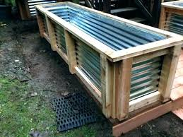 corrugated metal raised garden beds perth steel bed full image for unique corrug round corrugated metal garden beds boxes raised