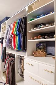 Image Scary The Key Here Is To Nix The Wire Hangers Though As They Dont Keep The Shape Of Your Clothes Nice Go With Skinny Designs Though As They Take Up Less Homedit 40 Tips For Organizing Your Closet Like Pro