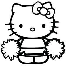 Hello Kitty Colring Sheets Baby Hello Kitty Coloring Pages At School Free Page