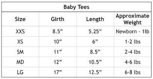 Bow Size Chart Dainty Bow Tee