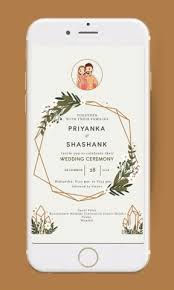Indian Wedding Save The Date Invitation Video Animated E