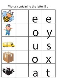 Worksheets generator phonics matching worksheets for short vowel sounds r controlled words matching phonics worksheets for. 3 Letter Word Phonics Worksheets A To Z By Be Like Kids Tpt
