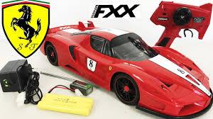 Ferrari FXX RC Remote Control Car Unboxing Toy 1:10 Plus Test Drive - YouTube