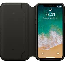 genuine leather folio flip wallet case cover for apple iphone 10 x 8 7 6 plus