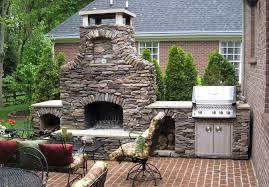 outdoor stone fireplaces decoseecom