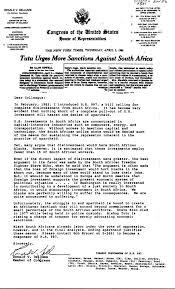 Anti Apartheid Gallery Legislation