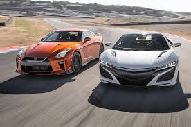 2018 Honda Nsx Vs Nissan Skyline Gtr Horsepower And MPG