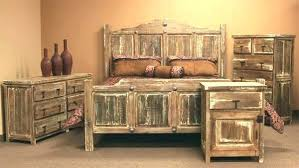 Minimized White Wash Queen Bedroom Set