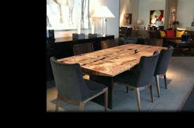 reclaimed dining room table. Reclaimed Dining Room Table Elegant Dark Brown Sets Black Wood Chairs E