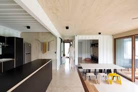 kitchen refrigerator drop in sink light hardwood floor ceiling lighting wood