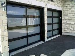 aluminium and glass garage doors