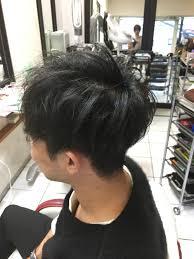 軟毛の柔らかい髪質の男性のお客様のヘアスタイル ブログ 堺市北区
