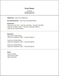 resume job outline functional sales resume