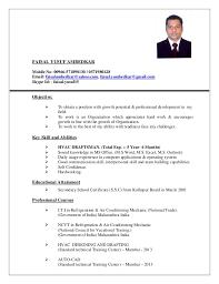 hvac draftsman cv hvac technician sample resume