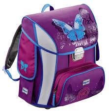 Купить <b>Ранец Step</b> By <b>Step BaggyMax</b> Simy Butterfly фиолетовый ...