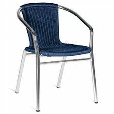 White U0026 Navy Bistro Cafe Chair  TIAB INCBistro Furniture Outdoor
