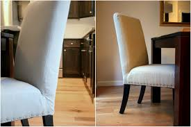 so proud of my little upholstery project nailhead parsons chairs makeover create enjoy