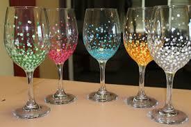 celebration wine glasses hand painted hand painted wine glasses hand painted wine glasses