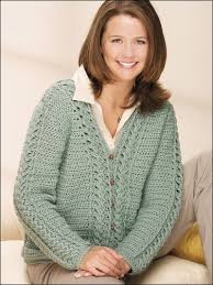 Sea Spray Cabled Cardigan - Darla Sims #Free #Crochet #Pattern  free-crochet.com M… | Sweater crochet pattern, Crochet jacket pattern,  Crochet cardigan pattern free