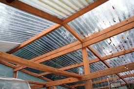clear corrugated plastic roofing