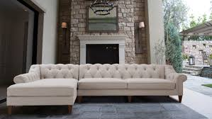 Image Charpan Alexandra Tufted Left Sectional Sofa Bone White Jennifer Taylor Home Alexandra Tufted Sectional Sofa Jennifer Taylor Home
