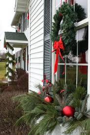 Christmas Window Box Decorations window box ideas Winter Window Boxes Lowe's Creative Ideas 19